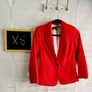 Kensington Red Blazer Size XS